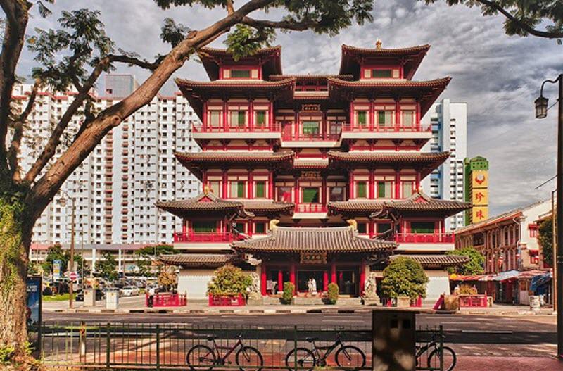 phật nha tự, du lịch Singapore malaysia