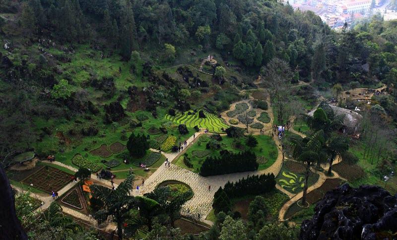 thung lũng núi hàm rồng du lịch Sapa