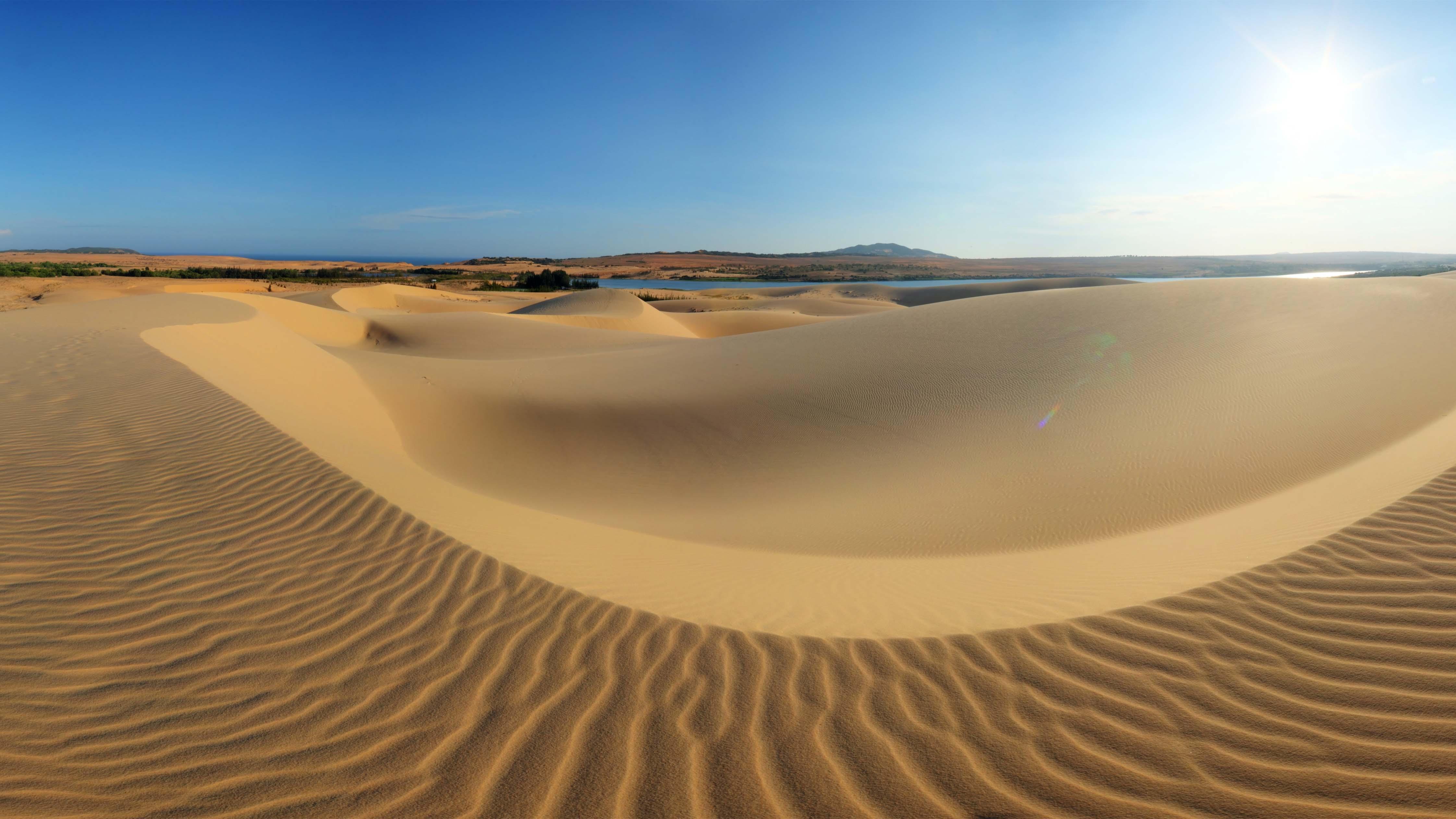 Cồn cát du lịch - Đồi cát Bình Thuận