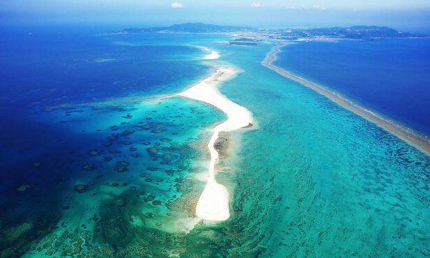 Đảo Churaumi thuộc quần đảo Okanawa