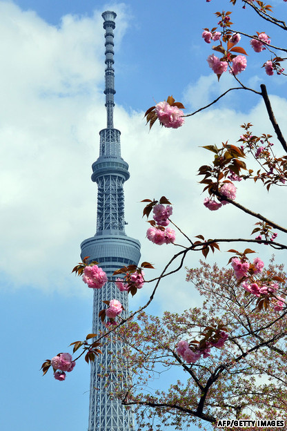 Tháp tokyo tuyệt đẹp vào ban ngày