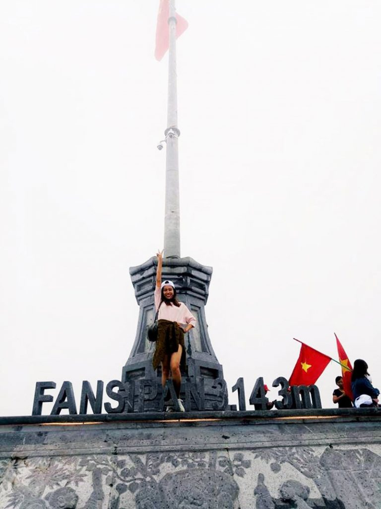 trên đỉnh Fansipan