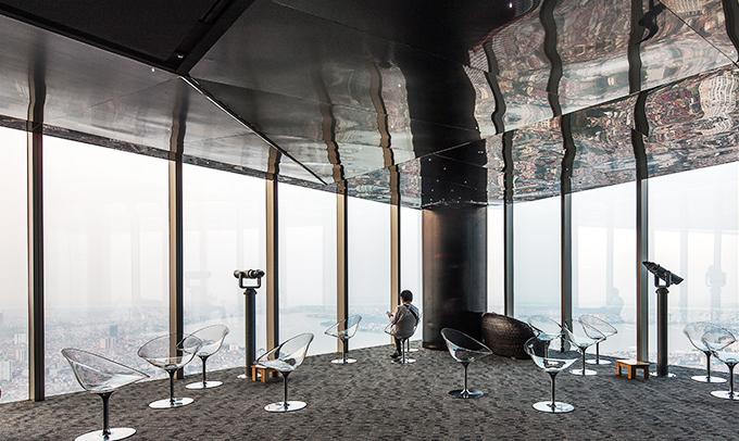 Địa điểm sống ảo ở hà nội - Đài quan sát Tòa nhà Lotte centre
