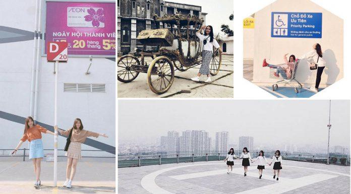 Ghé thăm top những địa điểm sống ảo chất lừ quanh Hà Nội