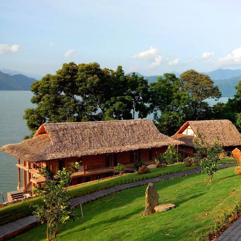 Không gian xanh của Mai Châu Hideaway Resort