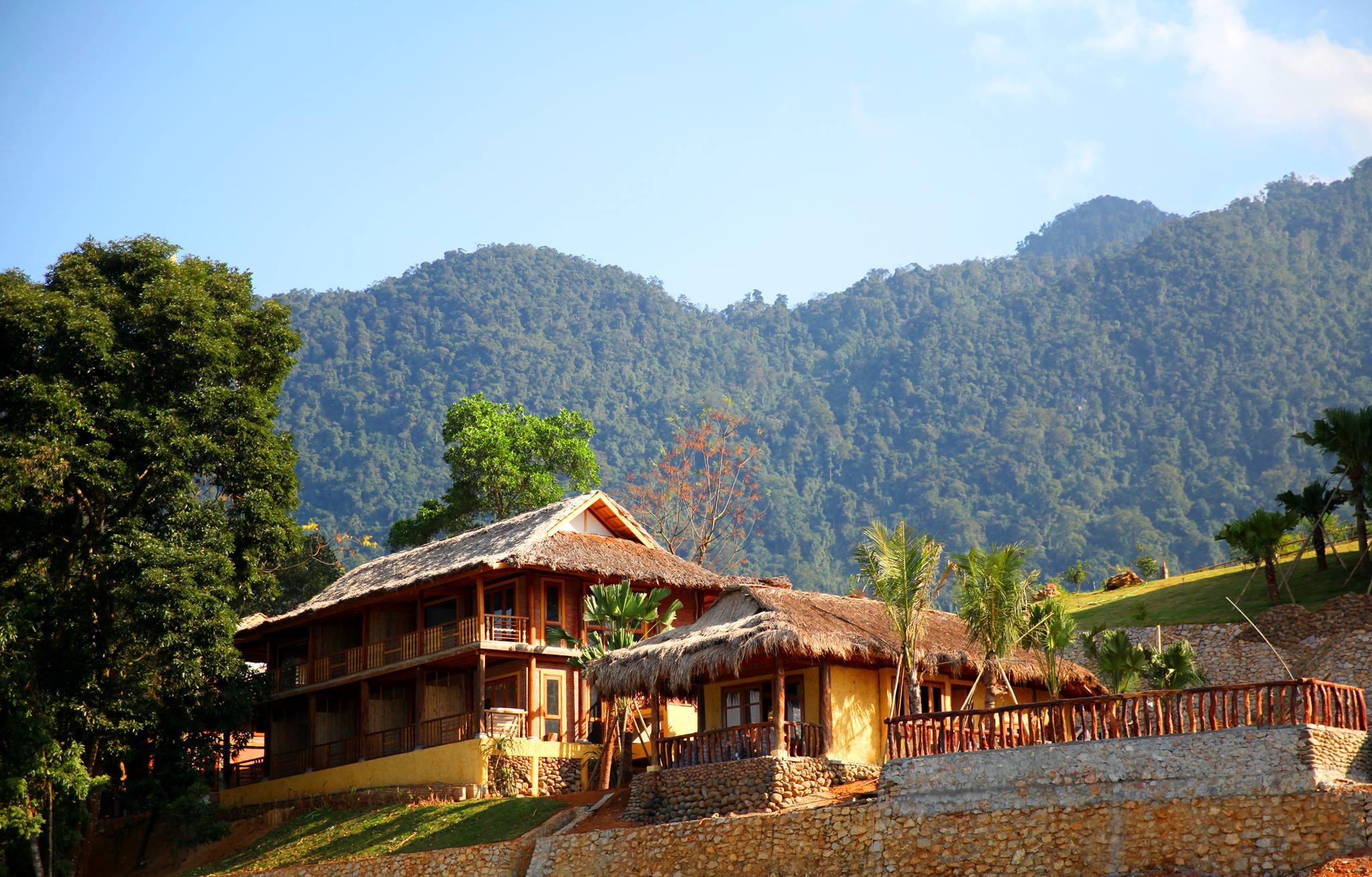 Chất Rustic của Kiến trúc nhà sàn ở Mai Chau Hideaway