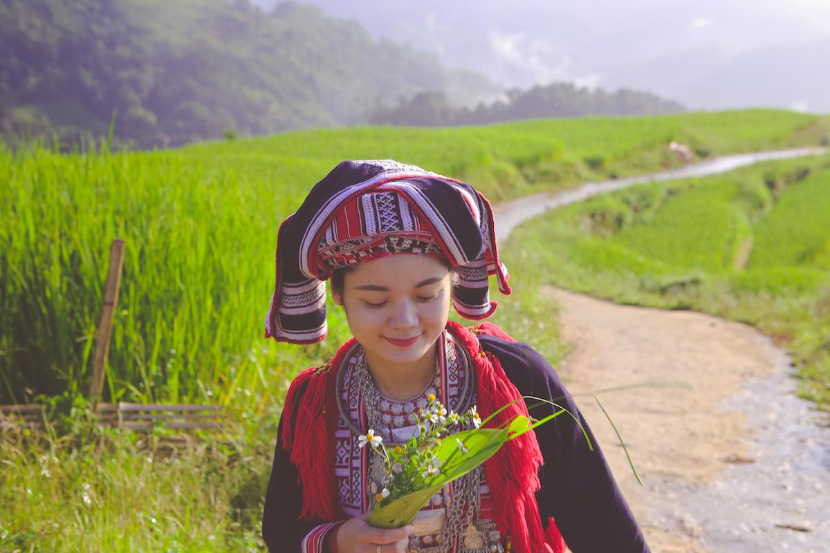 Cô gái Dao