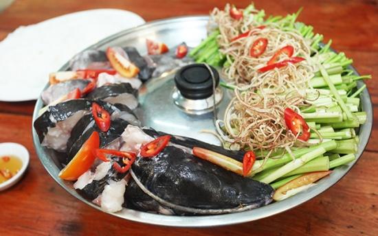Lẩu cá lăng - Ẩm thực Tây Nguyên