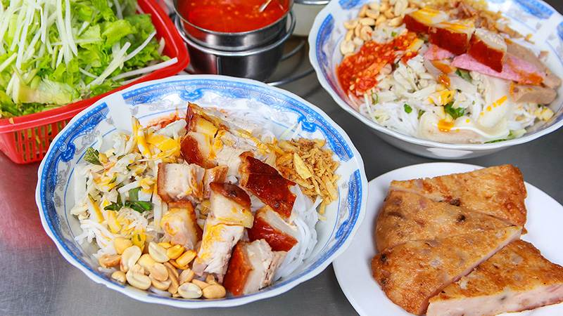 Bún mắm đặc sản ẩm thực Đà Nẵng