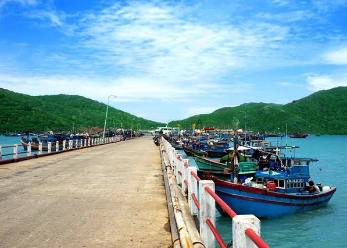 Cảng Bến Đầm - cửa ngõ giao thương của Côn Đảo