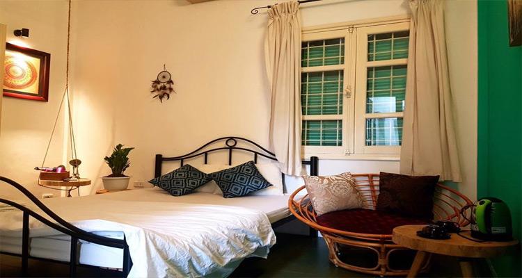 Phòng ngủ sạch sẽ, đầy đủ tiện nghi