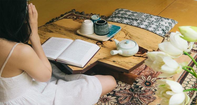Một góc nhỏ ngồi uống trà của Rustic House Homestay Hà Nội