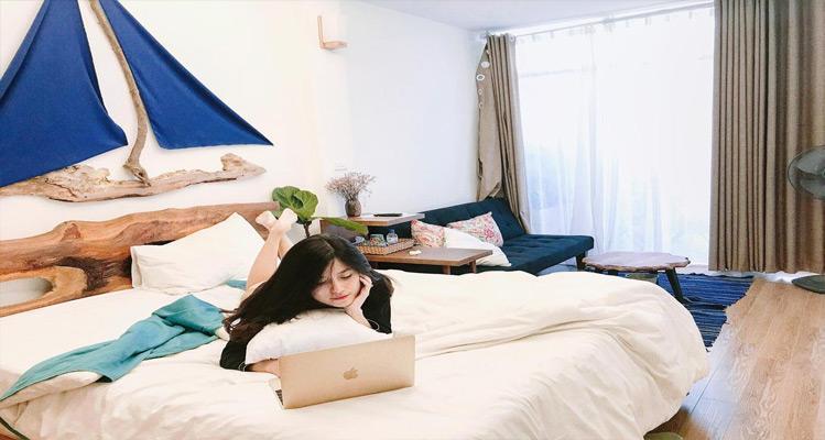 Căn phòng tạo nên sự gần gũi như chính ngôi nhà của mình