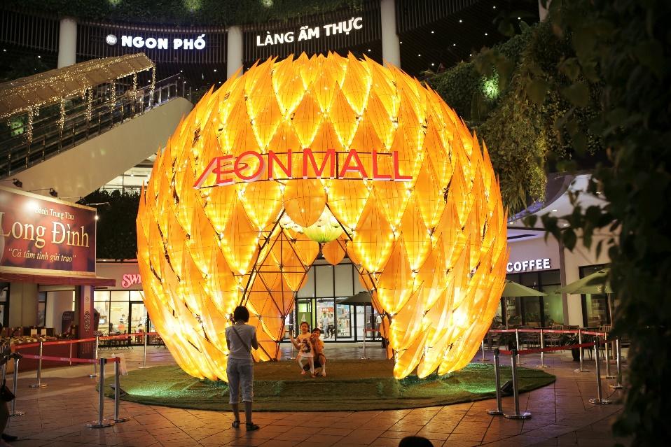 Aeon Mall Long Biên trung thu 2019