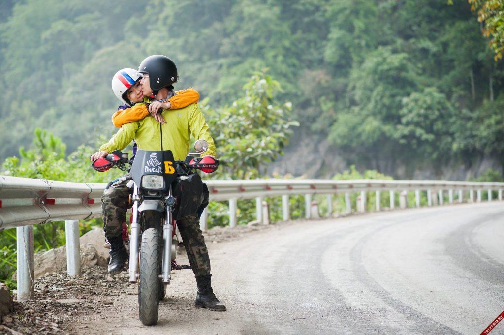 Di chuyển Hà Nội  - Tam Đảo bằng xe máy