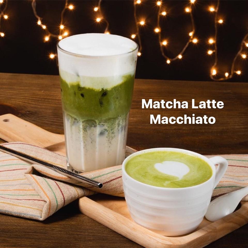 Matcha Latte là thức uống yêu thích của khá nhiều người khi đến cp1 coffee
