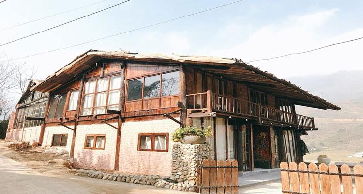 Lee House homestay Sapa nổi bật lên với thiết kế đậm nét truyền thống của người dân tộc nơi đây