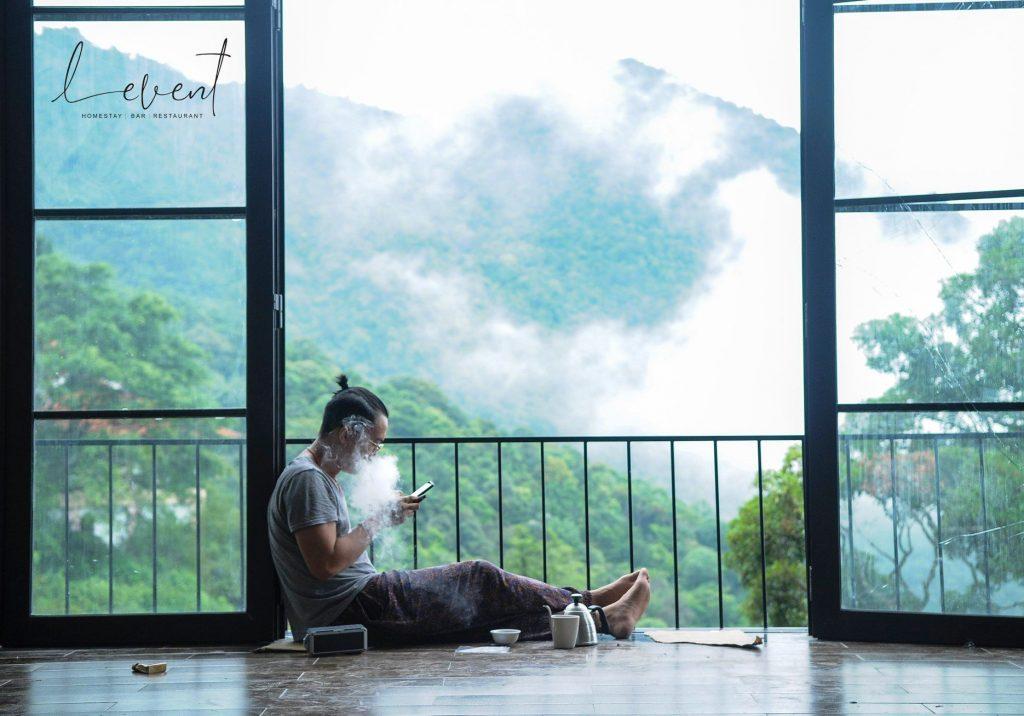 Cảnh mây ở LeVent Tam Đảo