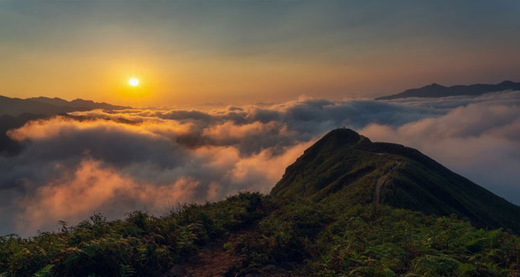 Tà Xùa - Bắc Yên nằm ở huyện Sơn La