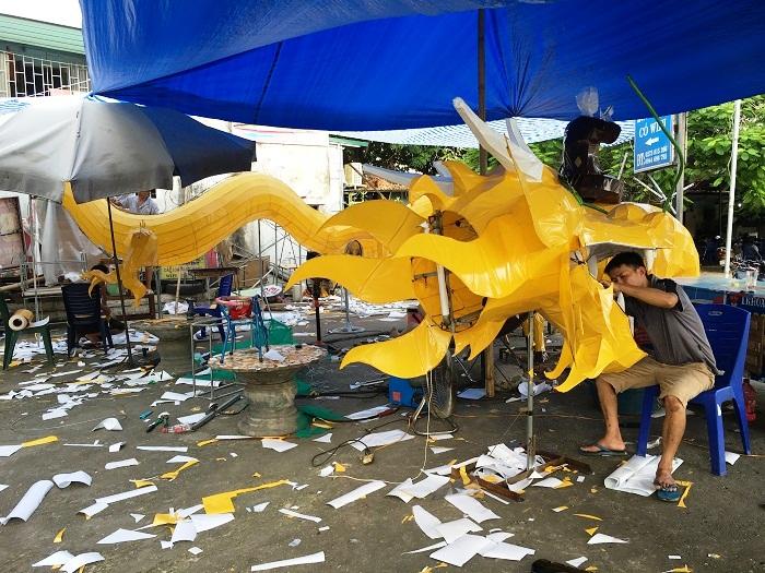 Các tổ dân phố đang chuẩn bị tích cực tham gia lễ hội Thành Tuyên