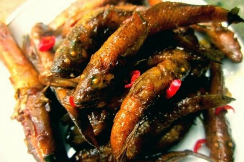 Đặc sản cá pa boong của người Thái ở Mường Than