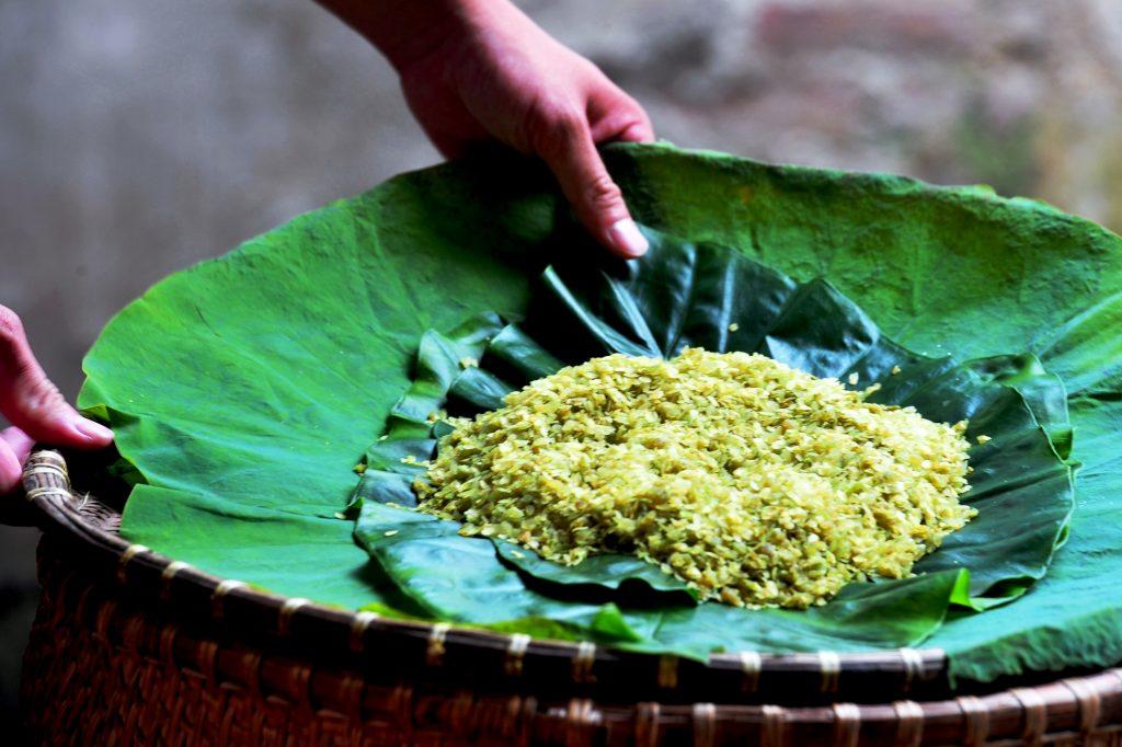 Cốm - Món ăn ngon mùa thu Hà Nội