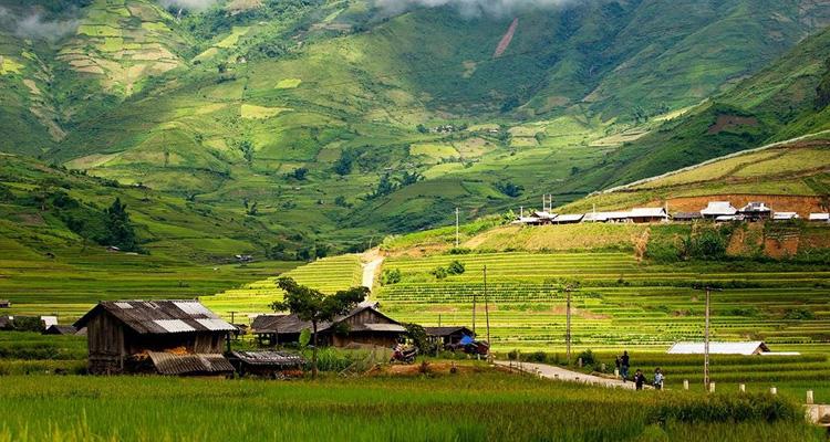 Thung lũng Thề Pả trên Cung đường phượt Bát Xát Lào Cai