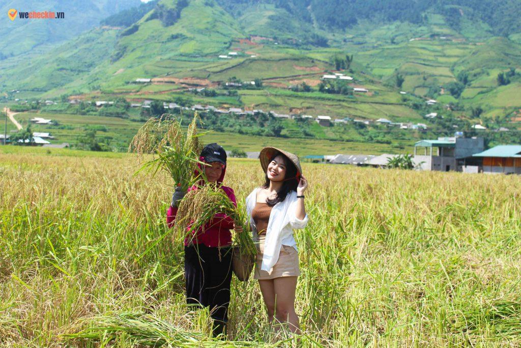 Người dân ở Lìm Mông - Lìm Thái