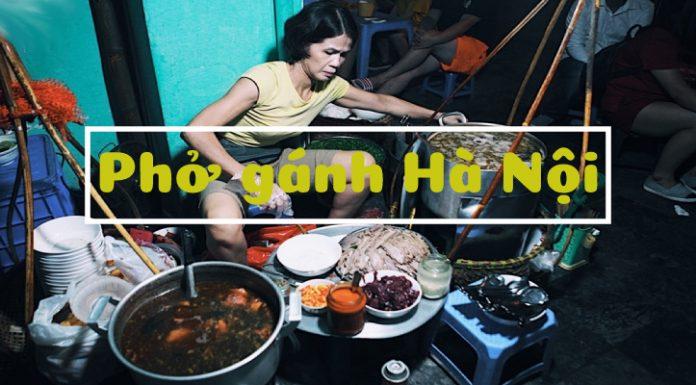 Phở gánh Hà Nội lúc 3h sáng