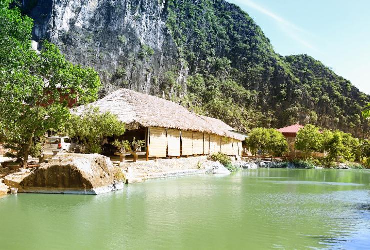 Không gian thơ mộng cho bạn thả hồn với thiên nhiên với đánh giá nằm trong top Homestay Tam Cốc view núi đẹp nhất