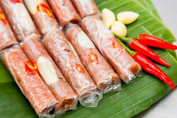 Nem chua - Món ngon Thanh Hoá
