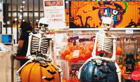 Aeon Mall Tân Phú đêm Halloween