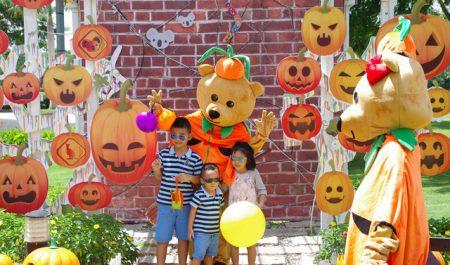 Chơi Halloween ở đâu Sài Gòn - Crescent Mall Quận 7