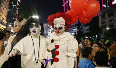 Chơi Halloween ở đâu Sài Gòn - Công viên văn hóa Đầm Sen