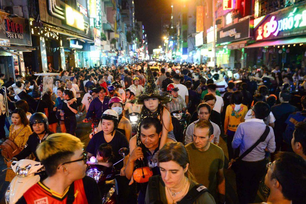 Hoạt động cho ngày Halloween tại Sài Gòn