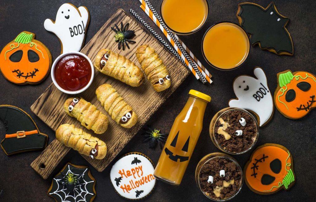 Hoạt động cho ngày Halloween - nấu các món ăn đậm chất Halloween