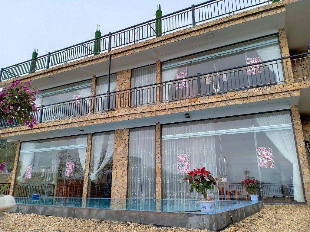 Dream House Tam Đảo có 4 phòng với diện tích tối đa là 75m2.