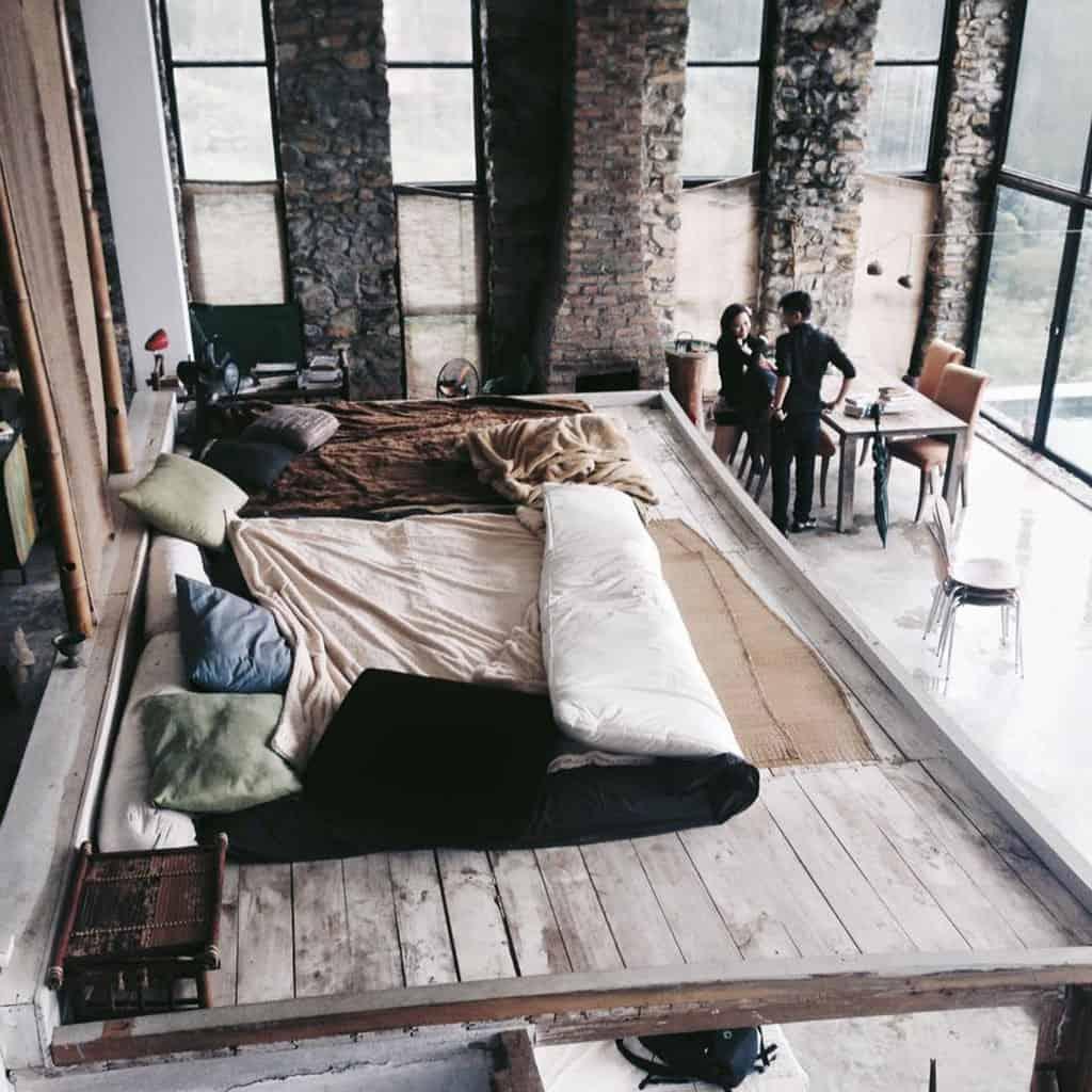 Homestay mang đậm phong cách Châu Âu, từng góc tường, những món nội thất đều mang lại sự sang trọng, cổ kính