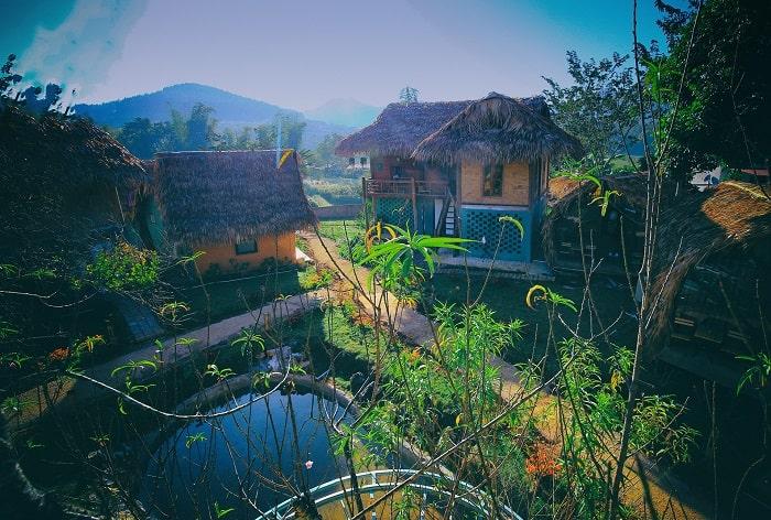 Fairy House là một homestay có thiết kế độc đáo và là homestay đẹp Mộc Châu.