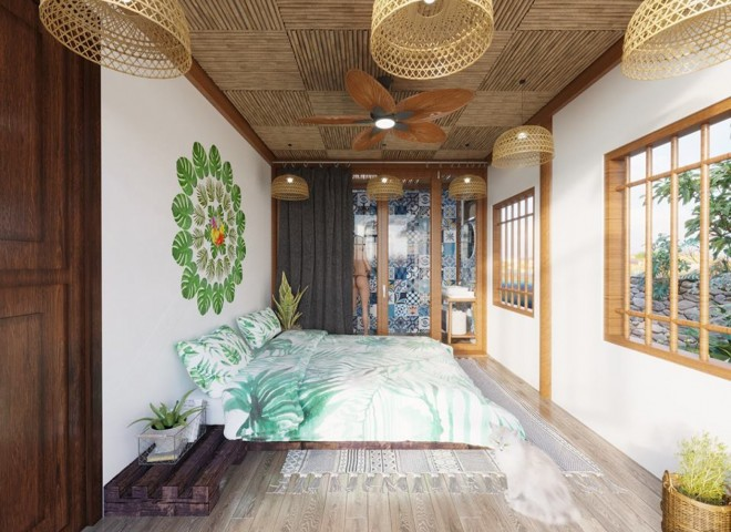 Điểm nhấn trong thiết kế của fairy house Mộc Châu đó chính là những căn nhà gỗ độc đáo không lẫn vào đâu được