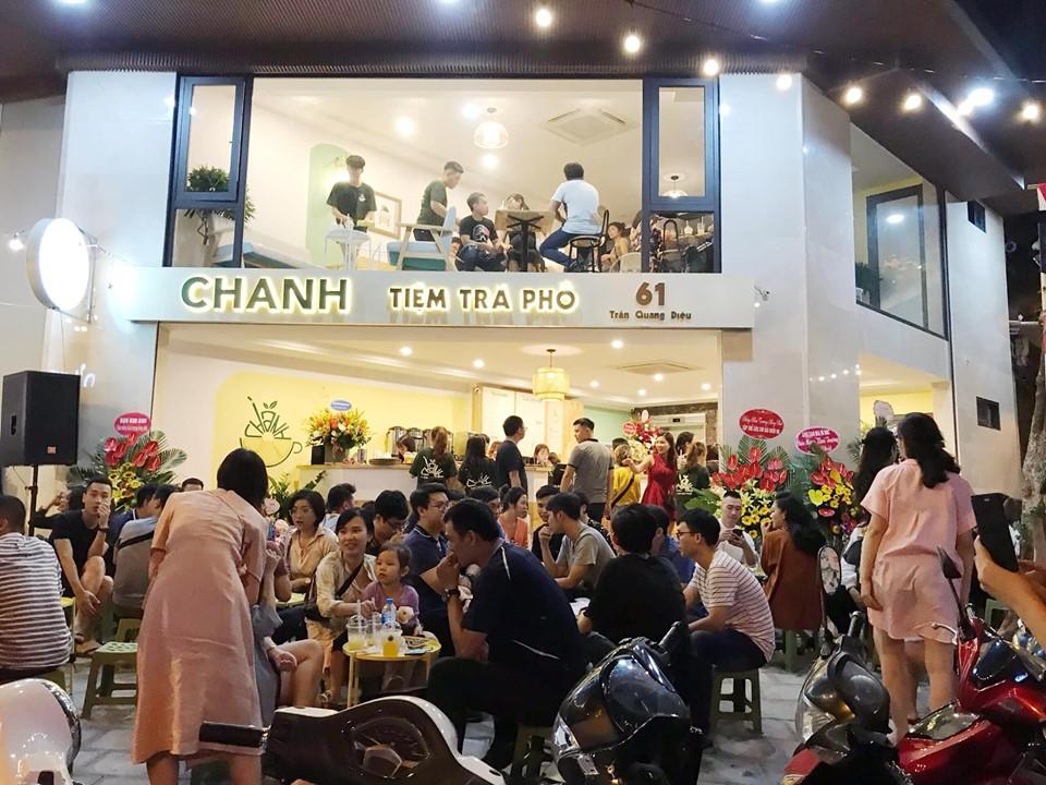Không gian tại Chanh - Tiệm trà phố