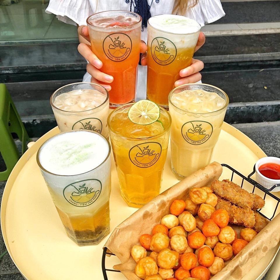 Đồ uống tại Chanh - Tiệm Trà Phố