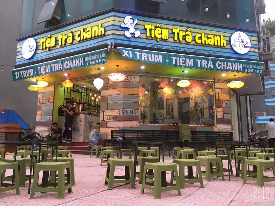 Quán trà chanh tại Hà Đông - Xitrum