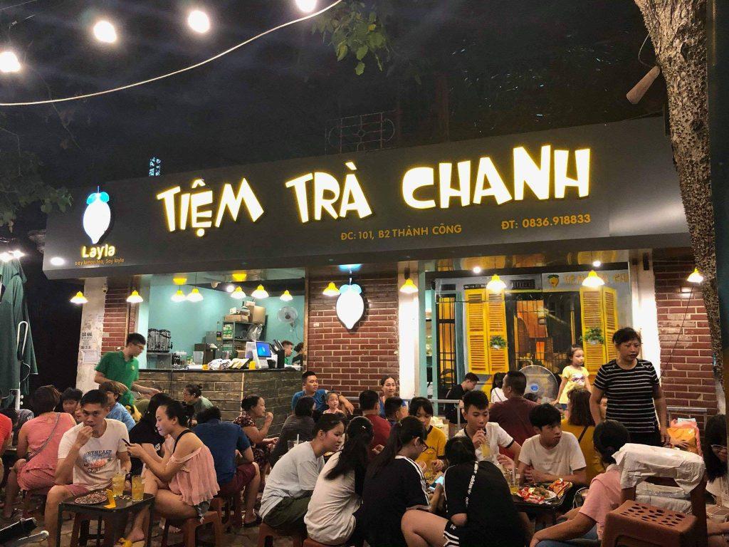 Layla - Tiệm trà chanh phố Hà Nội
