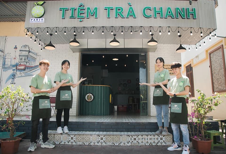 Paris - Tiệm Trà Chanh Phố Hà Nội