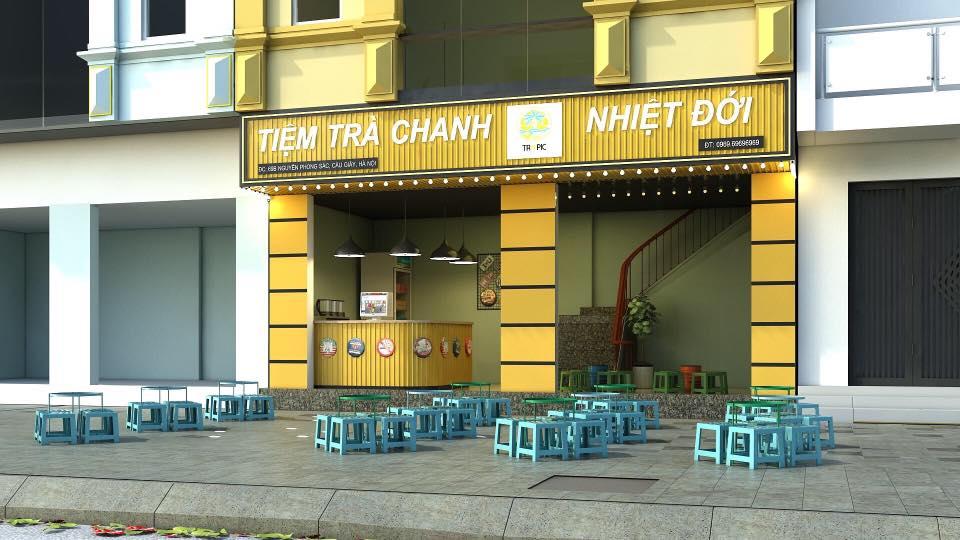 Trà chanh Tropic - Tiệm trà chanh phố Hà Nội