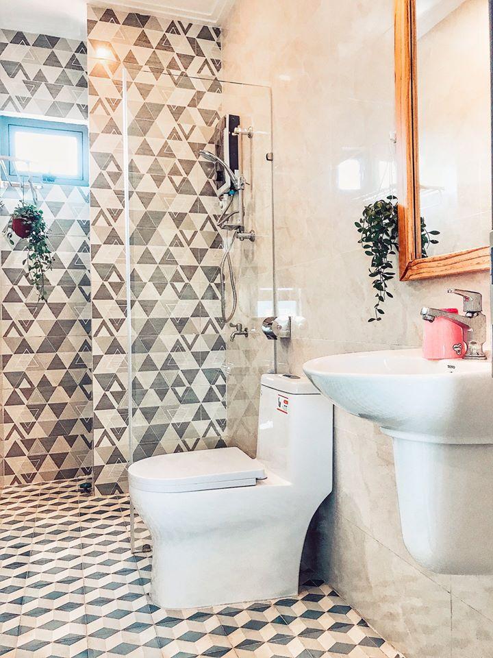 Khu vực vệ sinh theo nhiều phong cách khác nhau