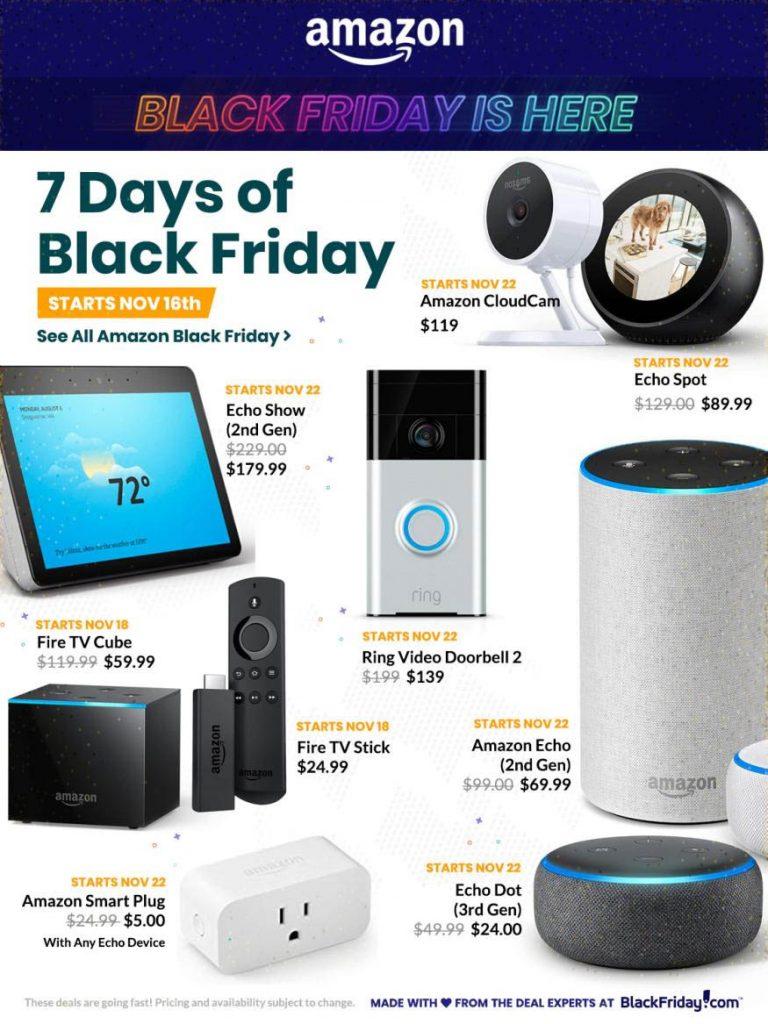 Amazon sale ngày Black Friday