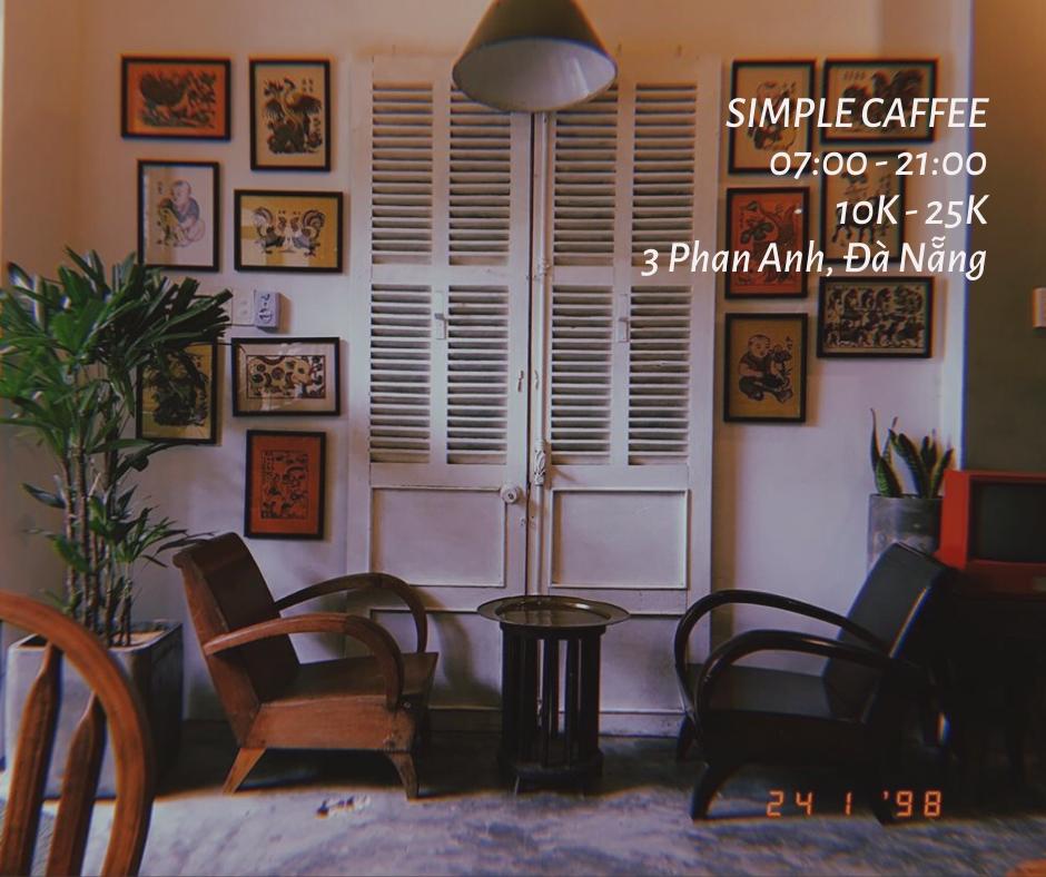 Tiệm cafe hoài cổ giữa lòng Đà Nẵng
