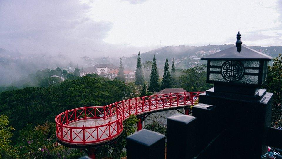 Toàn cảnh Cầu Đỏ Đà Lạt View
